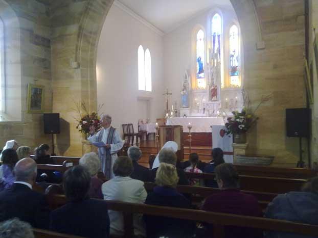 St. Pauls Parish - Relic of St. Francis Xavier visit