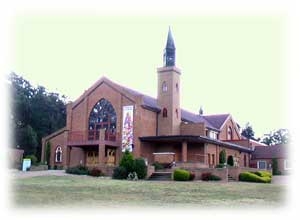 Click here for information about the Pauline Fathers Church at Penrose Park